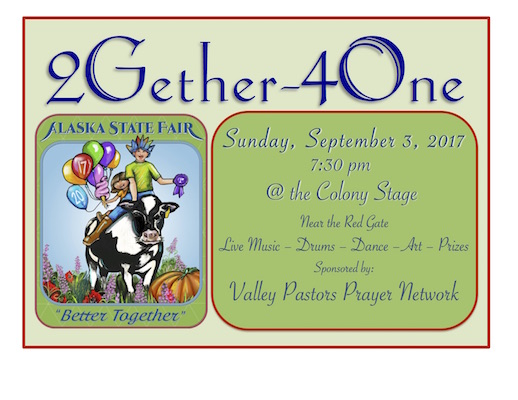 2Gether4One flyer